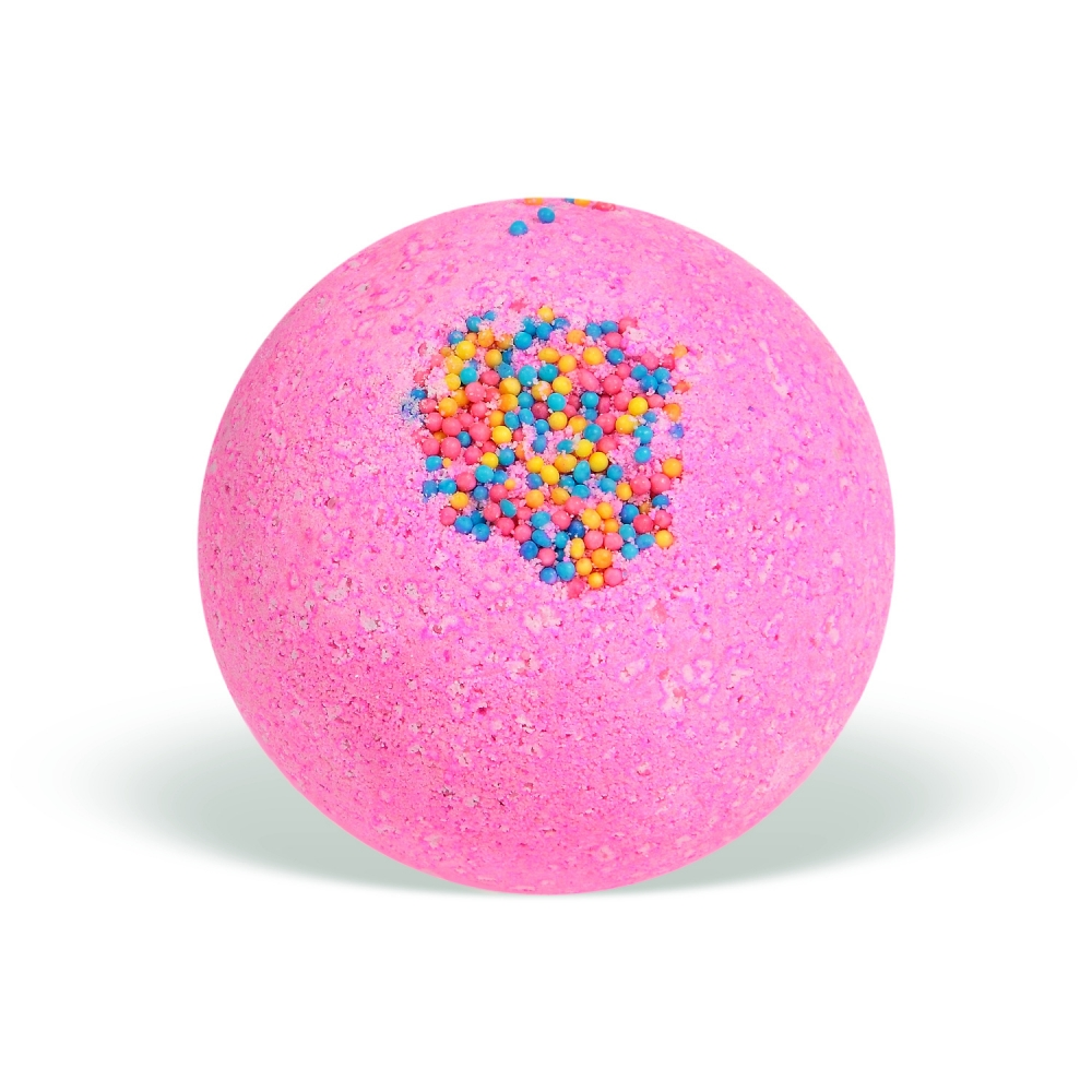 Natural Pink Dreams Handmade Bath Bomb / Bath Ball