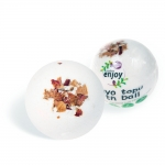 Doğal Beyaz Gül El Yapımı Banyo Bombası / Banyo Topu